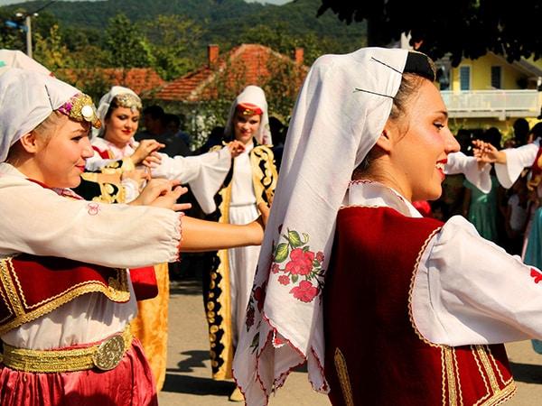 Traditinal Bosnian dance