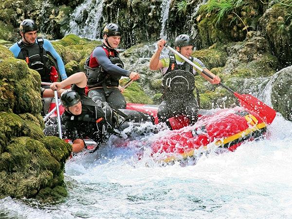 rafting-Una river